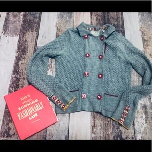 Sparrow button up sweater size L